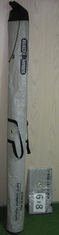6' Storage Bag for Bamboo Mat