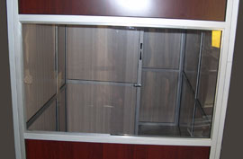 Window 2 x 90 Panel For New Wood Sukkah
